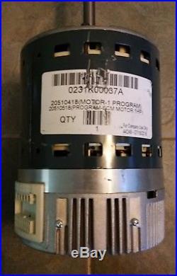 0231K00037A Goodman GE ECM 5SEA39RLV5427 1 Hp Furnace Blower Motor