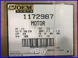 1172987 ICP Heil Tempstar 1/2 HP 230v X13 Furnace Blower Motor & Module