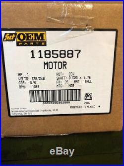 1185887 OEM ICP Heil Tempstar Comfort Maker 1 HP ECM Furnace BLOWER MOTOR