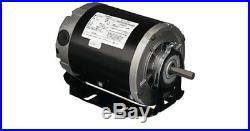 1/2 hp, 1725 rpm, 48 frame, 115 volt, 1 phase, belt drive furnace blower motor