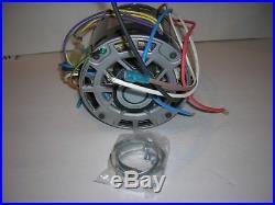 1/3 HP Furnace Blower Motor-115V-1075 RPM-Reversible-4.5Amp-3 Sp. Smart Elec. New