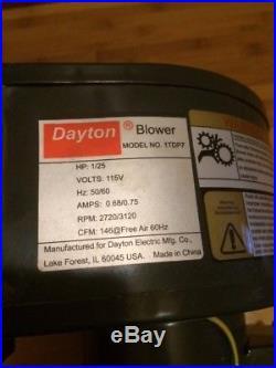 2 Dayton Blower Motor NOS Wood Burner Fireplace Furnace Blower