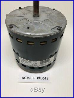 5SME39HXL041 ICP Heil Tempstar GE Genteq 1/2 HP 230v X13 Furnace Blower Motor