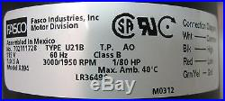 A194 Fasco Furnace Inducer Blower Motor for Trane 7021-9561 7021-9511 D330900P01