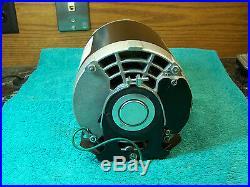 A O Smith 316P759 belt drive furnace blower motor 1/3 HP 115 V FR 48