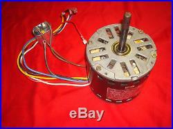 A. O. Smith F48D30B22 Furnace Fan Blower Motor 1/3HP 1100RPM 4SPD 115V 5.4A 60Hz
