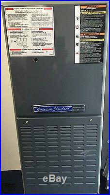 American Standard Furnace, 80KBTU, 80% Downflow, ECM Blower Motor