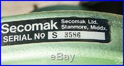 Blacksmith Forge Furnace SECOMAK Industrial Air Blower High Vel. Centrifugal Fan