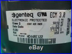 Bryant Carrier 1/2 Hp ECM Furnace Blower Motor with Module # HD44RE122