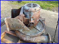 Buffalo Forge CO. TURBO BLOWER 10HP MOTOR furnace industrial forge vintage