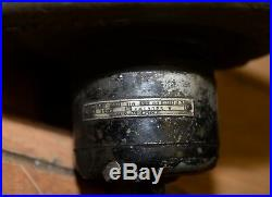 Buffalo Forge cast iron blacksmith blower Ace motor early furnace collectible