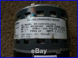Carrier Bryant ECM blower motor GE 5SME39HL0306 HD44AE116 1/2 HP ECM 2.0 CN02