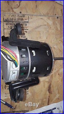 Carrier Bryant HD46MR124 3/4 HP ECM Furnace blower motor Genteq 5SME39NXL260
