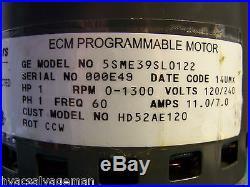 Carrier Bryant HD52AE120 ECM 1-HP Furnace blower motor and controller module
