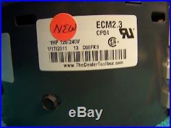 Carrier HD52AE120 ECM 1-HP Furnace blower motor & New 2.3 controller module