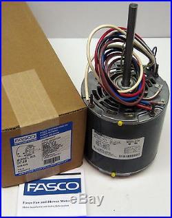 D729-10 Fasco 3/4 HP 1075 rpm 208-230 v 3 Speed Furnace Blower Fan Motor with Cap
