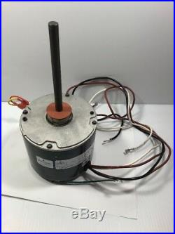 EMERSON K55HXTDS-8457 Furnace Blower Motor 1/4HP 460V 1075RPM 1PH. 8A 60Hz 48Y