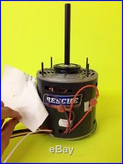 Emerson Rescue 115v Furnace Blower Motor DD 5460 1/2 HP 1075 4 Spd