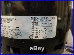 Fasco 7126-2312 45H3101 HP 1/3 RPM 1075 115V 60 Hz Furnace Blower Motor