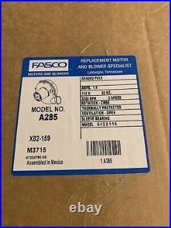 Fasco A285 Furnace Blower Motor