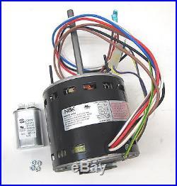 Furnace Air Handler Blower Motor 3/4 HP 1075 RPM 115 Volt 3 Speed for Fasco D728