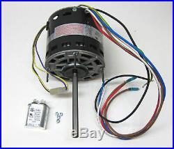 Furnace Air Handler Blower Motor 3/4 HP 1075 RPM 230 Volt 3 Speed for Fasco D729