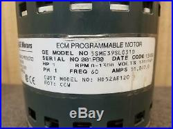 Furnace Blower Motor 5SME39SL0310 HD52AE120 Carrier Bryant
