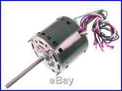 Furnace Blower Motor Dual Shaft 3/4 HP A/C Heating Repair Goodman GMC B1340022S