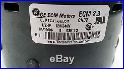 Furnace Blower Motor GE 5SME39HL0252 1/2 HP 120/240 Volt Stock No. 5462
