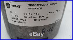Furnace Blower Motor GE 5SME39SL0013 Trane MOTO6649 ECM 1 HP
