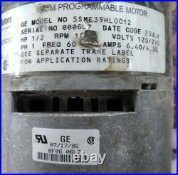 Furnace Blower Motor and ECM GE 5SME39HL0012 Trane MOT6648 MOT5432S 1/2 HP