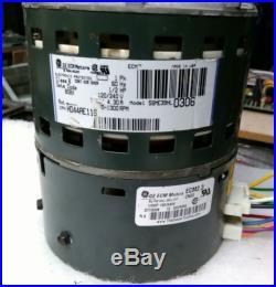 Furnace ecm blower motor 1 2 hp variable speed ge for Variable speed furnace motor