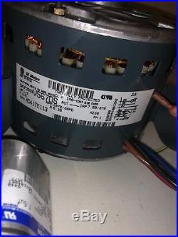 GENUINE GE BLOWER MOTOR Carrier Furnace HVAC 5KCP39GGV567DS HC41TE113 115v