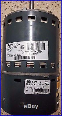 GE ECM 2.3 Furnace Blower Motor 5SME39SL0674 (1242)