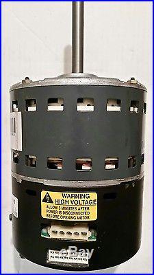 Ge ecm furnace blower motor 2 3 amana 20257708 goodman 1 2 for Ecm motors for hvac