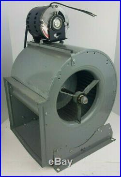 GE Furnace Blower Motor & Fan Housing Assembly 115V 1/4HP Tested