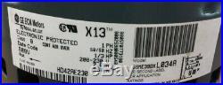 GE Genteq 1/3 HP X13 Furnace BLOWER MOTOR 5SME39DXL034A 7814(B13) JW