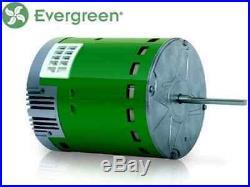 GE Genteq Evergreen 1/3 HP 230 Volt Replacement X-13 Furnace Blower Motor