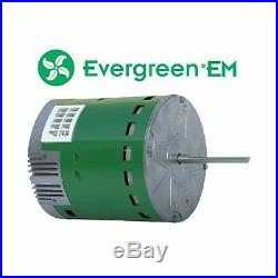GE Genteq Evergreen 1 HP 230 Volt Replacement X-13 Furnace Blower Motor