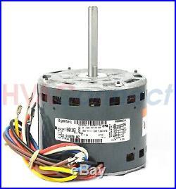 GE Genteq Rheem Ruud Weather King 1/2 HP 115v Furnace Blower Motor 51-24070-02