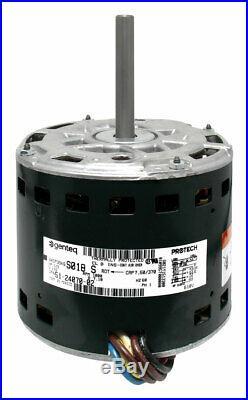 GE Genteq Rheem Ruud Weather King 1/2 HP 115v Furnace Blower Motor 5KCP39KGS018S