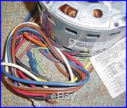 GE Motors 5KCP39FGN651S Furnace Blower Fan Motor 1/4HP 115V 1075RPM 1PH 3583