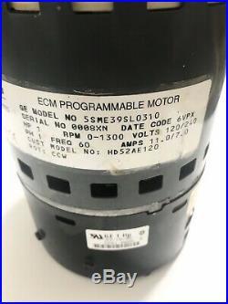 GE Motors 5SME39SL0310 ECM 2.3 Furnace Blower Motor 1HP 120/240VAC HD52AE120
