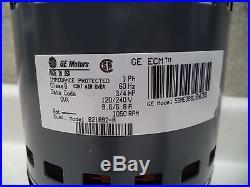 GE Nordyne Furnace 3/4 Hp ECM Blower Motor # 621892 & GE # 5SME39SL0638 NEW