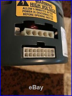 G. E. 1/2 HP ECM Furnace blower motor&controller 5SME39HL0252 TRANE(D341314P21)