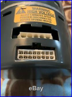 G. E. 1/2 HP ECM Furnace blower motor&controller 5SME39HL0252 TRANE(D341314P38)