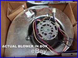 Gas A/C Furnace Squirrel Cage Blower Fan Assembly & Motor, 1/2 hp 1075 RPM 115V