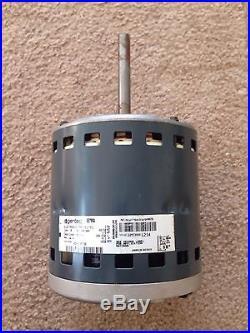 Genteq 1 2 hp 230v x13 furnace blower motor furnace for Carrier x13 blower motor