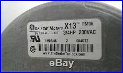Genteq 3/4 HP X13 Furnace Blower Motor 5SME39NXL043 HD46AE260 (0675) B16 CP