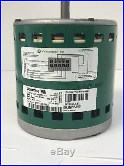 Genteq Evergreen 1/2 HP 208-230V Replaces X13 6205E Furnace Blower Motor